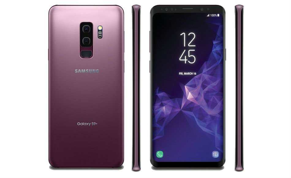 galaxy s9 leaks in lilac purple and coral blue colors