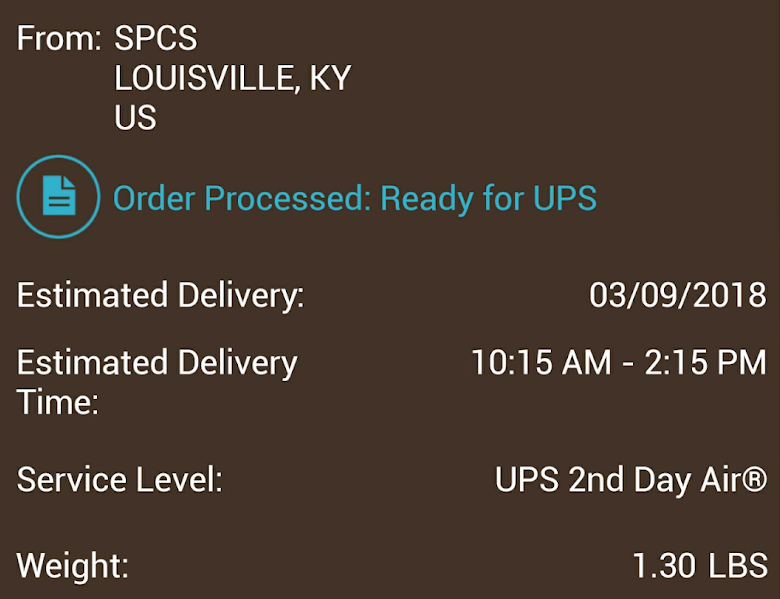 s9 plus delivery date